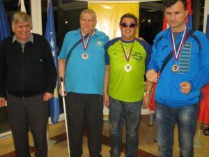 Podelitev nagrad v kategoriji B1 - moški