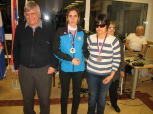 Podelitev nagrad v kategoriji B1 - ženske