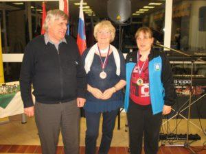 Podelitev nagrad v kategoriji B3 - ženske